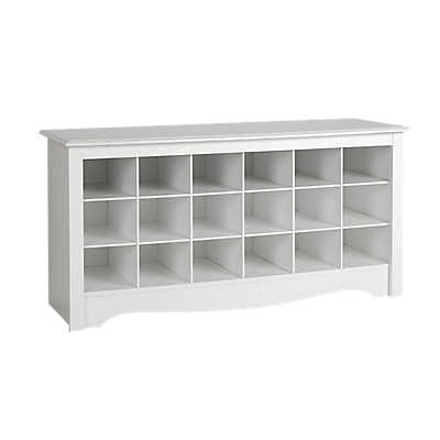 Picture of Shoe Storage Cubbie Bench