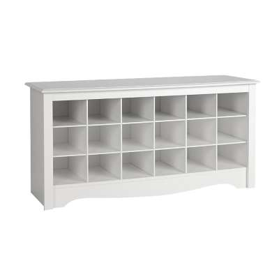 Picture for Shoe Storage Cubbie Bench