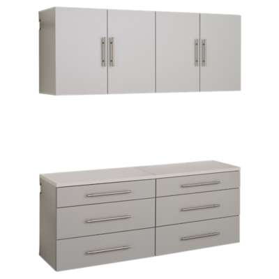 "Picture for 4-Piece HangUps 60"" Storage Cabinet Set F"