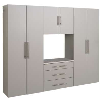 "Picture for 4-Piece HangUps 90"" Storage Cabinet Set G"