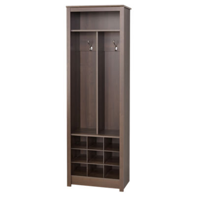 Picture of Space-Saving Entryway Organizer with Shoe Storage