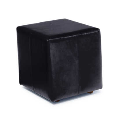 Picture of Shipley Leather Ottoman with Casters