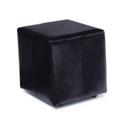 Picture for Shipley Leather Ottoman with Casters