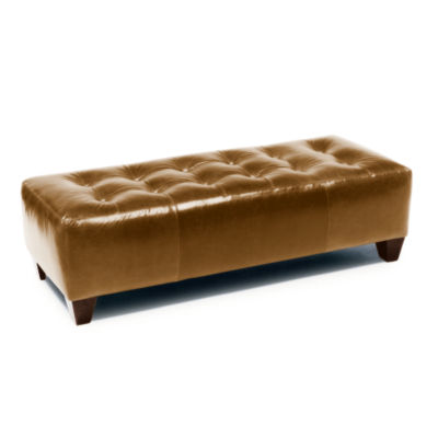 Picture of Willingham Leather Ottoman