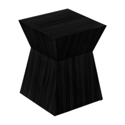 PSCH001-BLACK OAK: Customized Item of Pawn Accent Stool by Gus Modern (PSCH001)