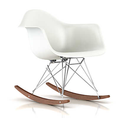 Picture of Eames Molded Plastic Rocking Chair by Herman Miller