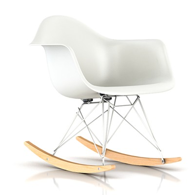 eames molded plastic rocking chair smart furniture