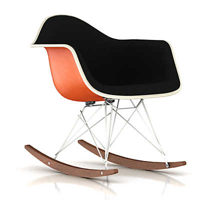 Picture of Eames Upholstered Molded Fiberglass Rocker by Herman Miller