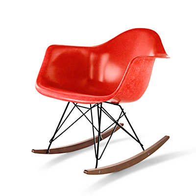Picture of Eames Molded Fiberglass Rocker by Herman Miller