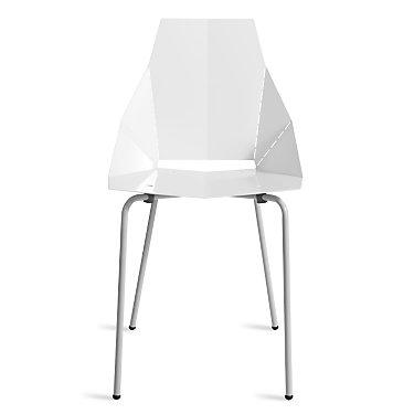 RG1SIDCHR-BDWHITE: Customized Item of Real Good Chair by Blu Dot (RG1SIDCHR)