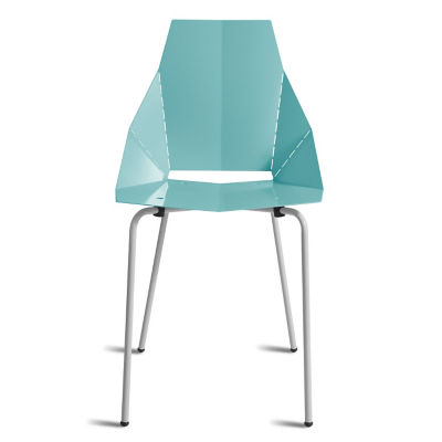 RG1SIDCHR-AQUA_BLUE: Customized Item of Real Good Chair by Blu Dot (RG1SIDCHR)