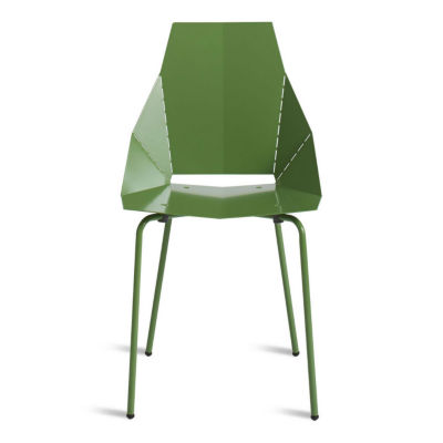 RG1SIDCHR-BDGREEN: Customized Item of Real Good Chair by Blu Dot (RG1SIDCHR)