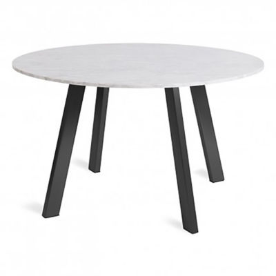 "RR152TBMB-BK: Customized Item of Right Round 52"" Marble Dining Table by Blu Dot (RR152TBMB)"