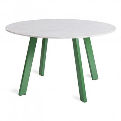 "RR152TBMB-GR: Customized Item of Right Round 52"" Marble Dining Table by Blu Dot (RR152TBMB)"