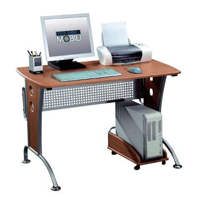 Picture for Contemporary Computer Desk with Metal Legs