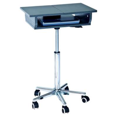 Picture for Height-Adjustable Laptop Stand with 2 Worksurfaces