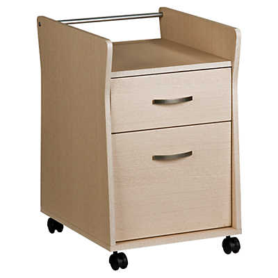 Picture of Techni Mobili 1-Drawer Rolling Open Top File Cabinet