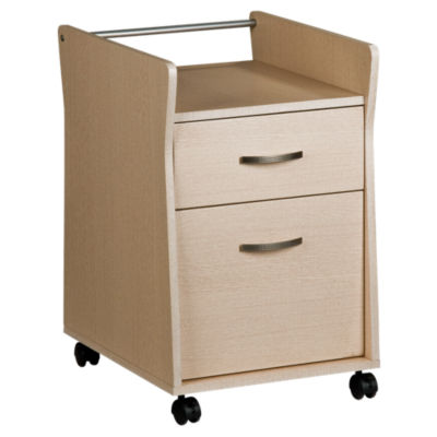 Techni Mobili 1 Dwr Rolling Open Top File Cabinet Smart