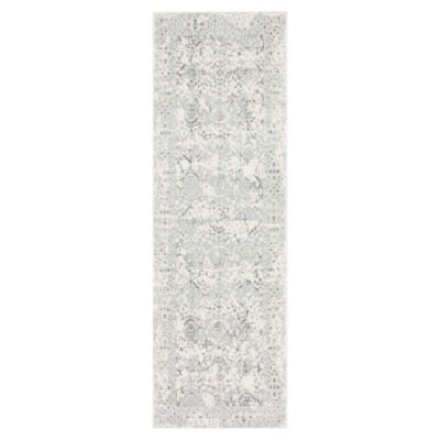 Picture of Vintage Odell Runner in White by nuLOOM