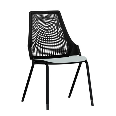 herman miller sayl side chair with 4 leg base smart furniture