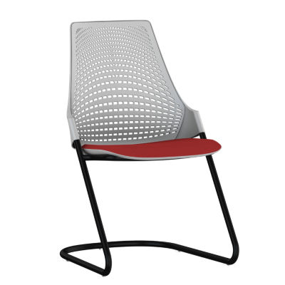 Herman Miller Sayl Side Chair with Sled Base Smart Furniture