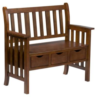 Picture for Locksley Oak Storage Bench