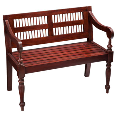 Picture of Rahman Mahogany Bench
