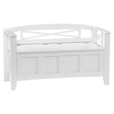 Picture for Countryside White Storage Bench