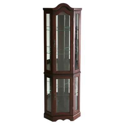 Picture for Lincoln Mahogany Corner Curio Cabinet