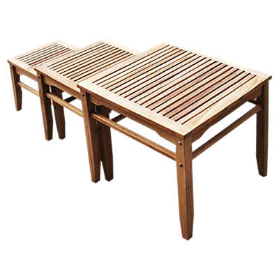 Picture of Pesca Nesting Table Set