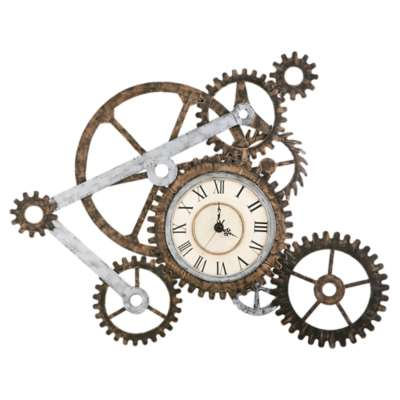 Picture for Steampunk Wall Clock