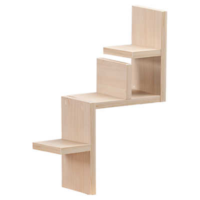 labyrinth light maple shelf smart