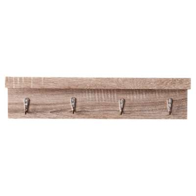 Picture for Gregory Dark Coat Rack with Ledge