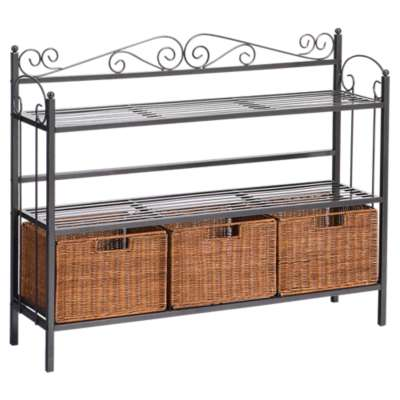 Picture for McLane 3-Drawer Bakers Rack