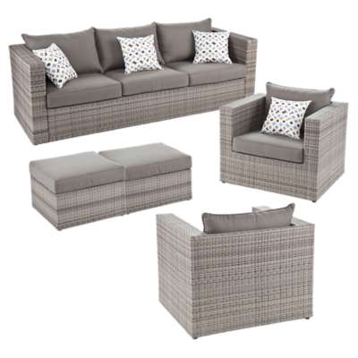 Picture for Sydney Outdoor Deep Seating 5-Piece Set