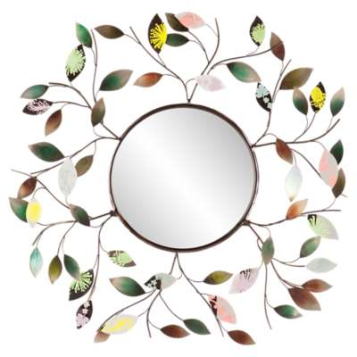 Picture for Sibley Decorative Leaf Wall Mirror