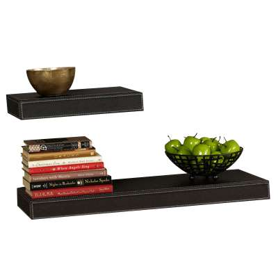 "Picture for Serene Leather Shelf, 12""-36"" by Smart Furniture"