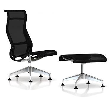 SETULOUNGECQ811MAG1L7NNN4W05: Customized Item of Setu Lounge Chair by Herman Miller (SETULOUNGE)