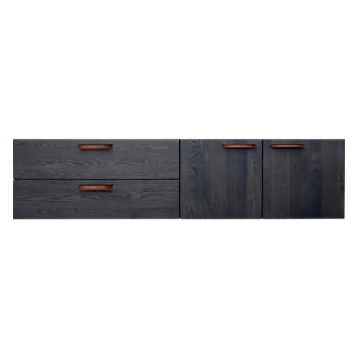 Picture of Shale 2 Door / 2 Drawer Wall-Mounted Cabinet by Blu Dot
