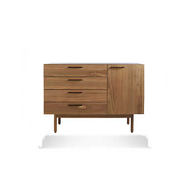 Picture of Shale 4 Drawer 1 Door Credenza by Blu Dot