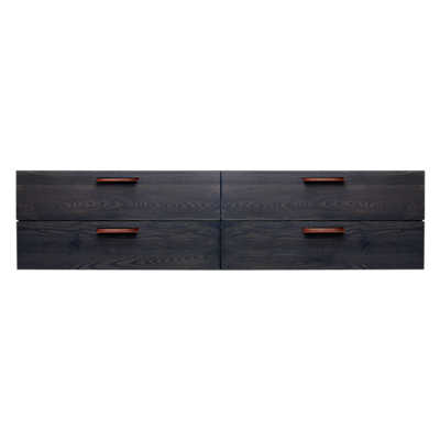 Picture of Shale 4 Drawer Wall-Mounted Cabinet by Blu Dot