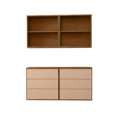 Picture for MODO 2x2 Floating Storage Wall SM 721-731 by Skovby