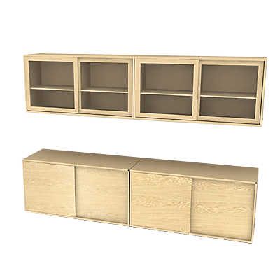Picture of MODO 4x2 Storage Wall SM 722-732 by Skovby