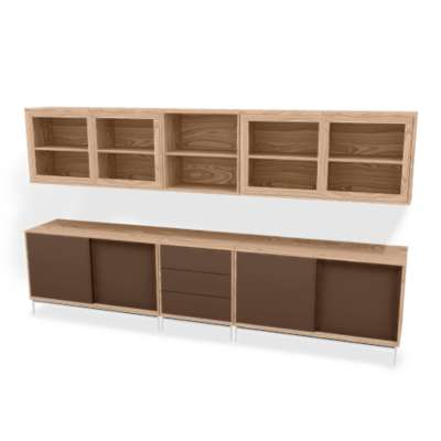 Picture for MODO 5x2 Storage Wall SM 722-732 by Skovby