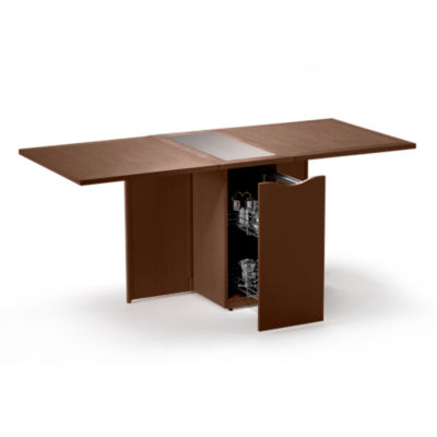 SKSM101-QS-WALNUT: Customized Item of Multi-Function Extending Table SM 101 by Skovby (SKSM101)