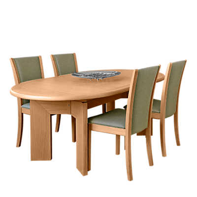 Picture of Oval Expanding Dining Table SM 14 by Skovby