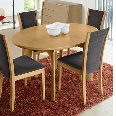 Picture of Ellipse Extending Dining Table SM 70 by Skovby