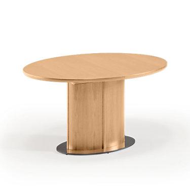SKSM72-QS-CHERRY: Customized Item of Oval Extending Dining Table SM 72 by Skovby (SKSM72)
