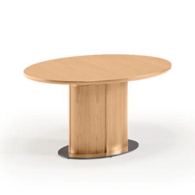 SKSM72-SP-OAK LACQUER: Customized Item of Oval Extending Dining Table SM 72 by Skovby (SKSM72)