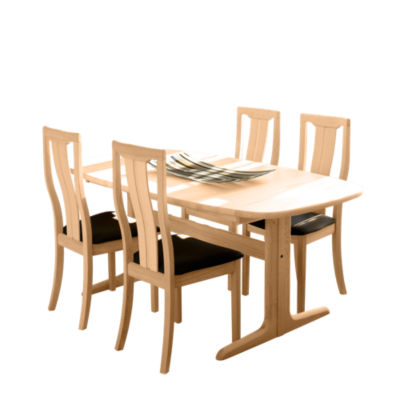 Picture of Ellipse Extending Dining Table SM 74 by Skovby